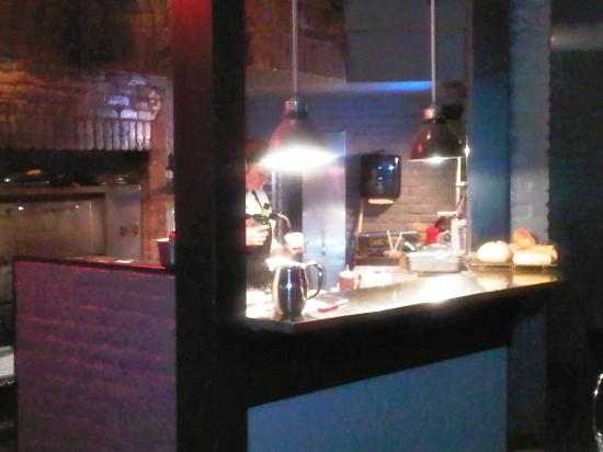 Syndicate Restaurant St. Catharines : Making creme brule!