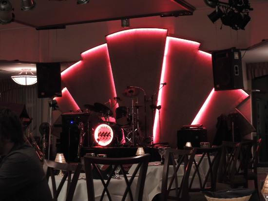 The Copper Room: Band Stage