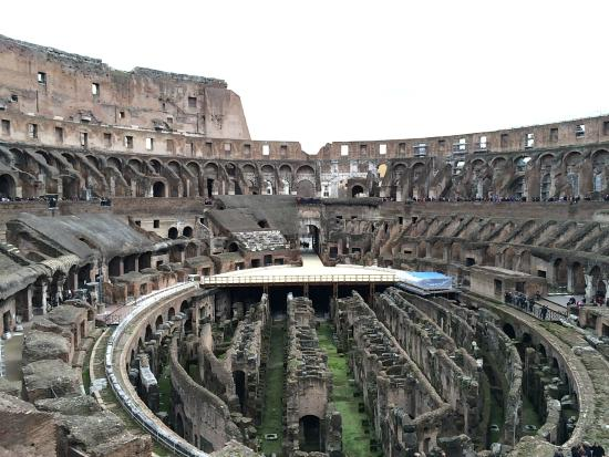 Rome, Italy: Amazing all of the structure that is till standing and how much is original.