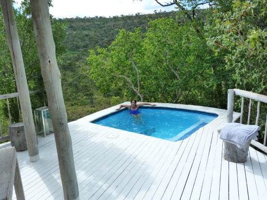 la piscine de la chambre