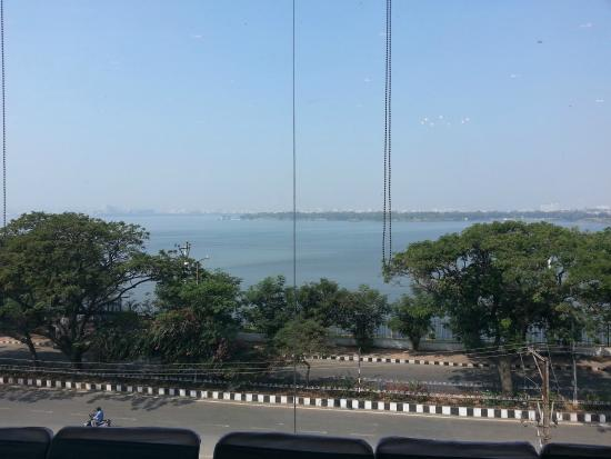 juSTa On Necklace Road, Hyderabad: view from banquet hall