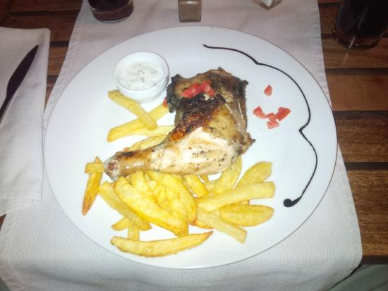 Comme Chez Soi : Chicken and CHips