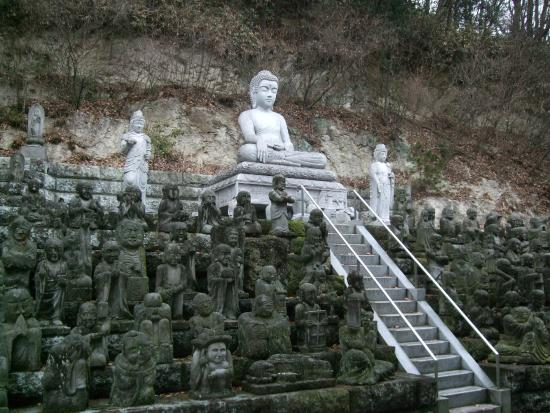 Utsunomiya, Japan: 大石仏と五百羅漢が良かったです