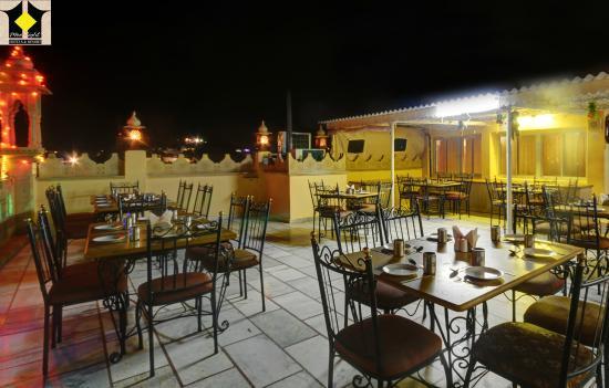 Hotel Moonlight Jaisalmer: Moonlight Restaurant (Rooftop)