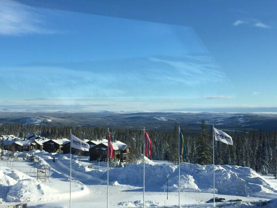 Park Inn Trysil Mountain Resort: View from room