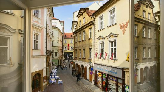 Direct view to karlova street picture of savic hotel for Design hotel jewel prague tripadvisor