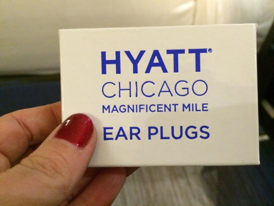 Hyatt Centric Chicago Magnificent Mile: If you're a light sleeper, you may want to use these