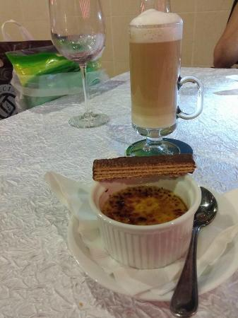 Red Sky Restaurant and Bar: Crème brûlée