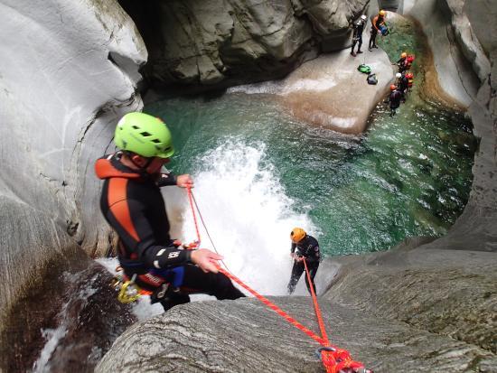 Schladming, Österrike: Canyoning vom feinsten