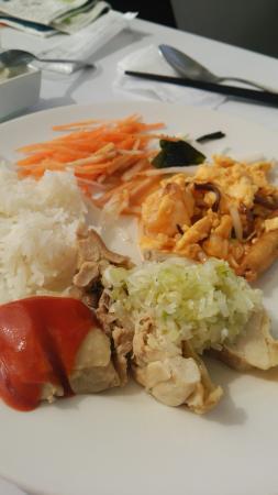 Singapore Seafood Republic Ginza: チキンライス