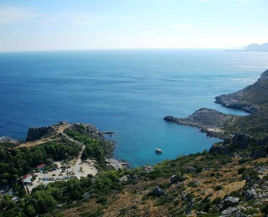 Ladiko, Grecia: Ο κόπλπος  του  ΛΑΔΙΚΟΥ  ΡΟΔΟΣ.