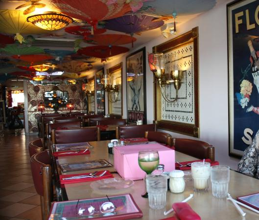 Colorful Decor - Picture of Serendipity Restaurant ...