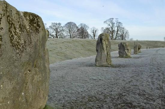 Corsham, UK: Avebury Henge (World Heritage Site)