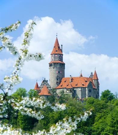 Bouzov Castle照片