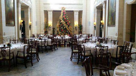 San Anton, Malta: Villa corinthia during festive season