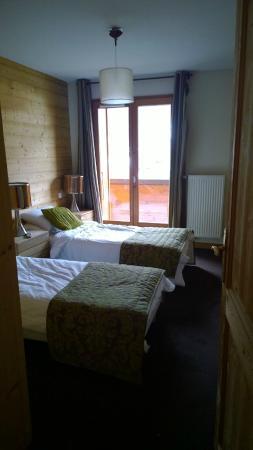 Residence L'Aiglon de Morzine : Twin room apt 7