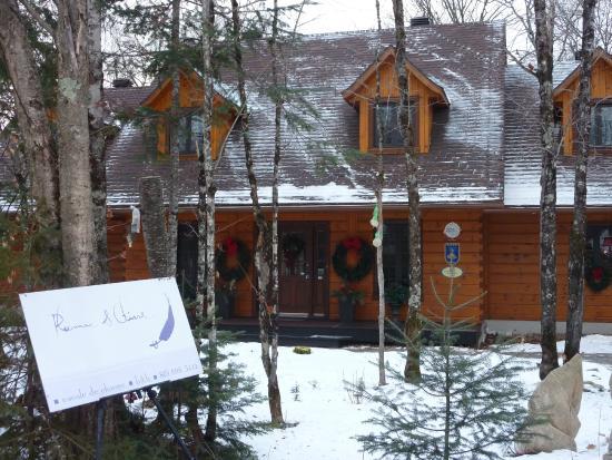 Plumes et Glisse : La charmante maison
