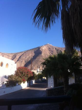 Gardenia Hotel: utsikt utanför hotellet!