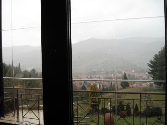 Nefeli Guest Houses: Θέα απ΄το σαλόνι
