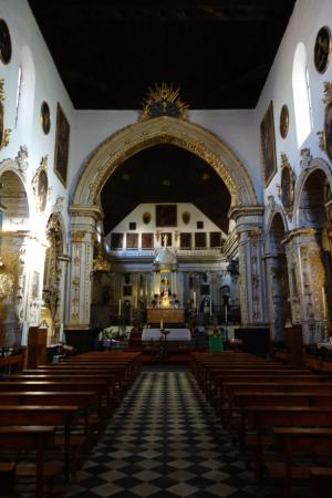 Iglesia de san gil y santa ana granada fotograf a de - Santa ana granada ...
