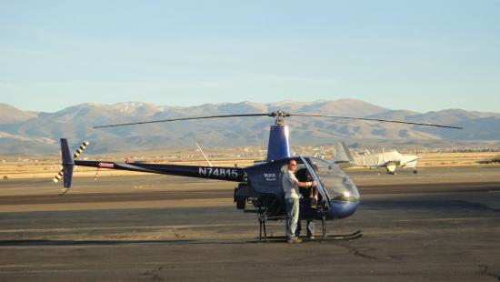 Helicopter Flight Training At Reno Tahoe Minden NV  Picture Of Pacific No