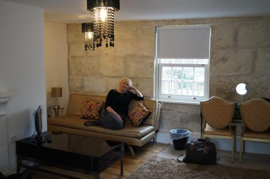 No. 35 at The New Inn: Photo courtesy of our lovely regular guests enjoying our Suite