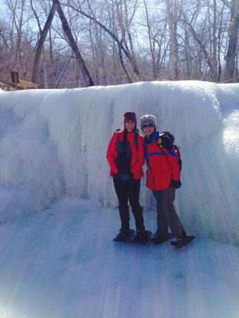 "The Gear ReSource Outfitters: Frozen ""Hidden Falls"" in Big Woods Nerstrand State Park"