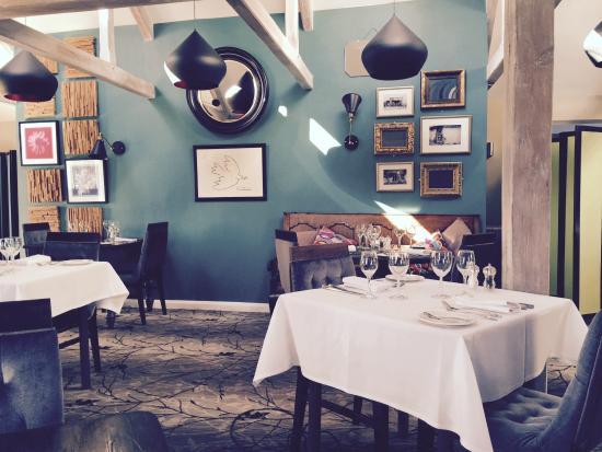 Crouchers Hotel: Restaurant