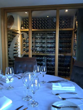 Crouchers Hotel: Wine Cellar