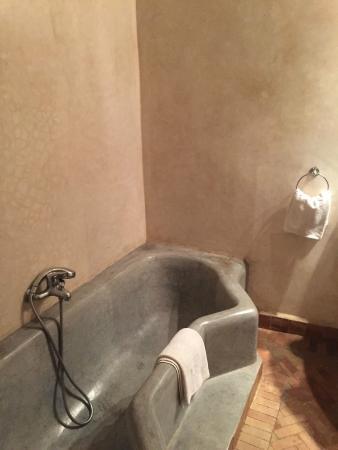 Riad L'Orchidee: il bagno