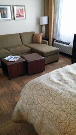 Staybridge Suites West Edmonton Upscale Sectional Sofa