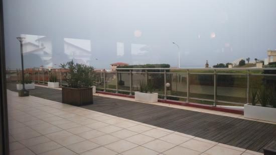 Hotel Le Biarritz : Terrasse du restaurant de l hotel