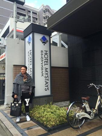 Hotel MyStays Kyoto Shijo: ชักภาพหน้าโรงแรม