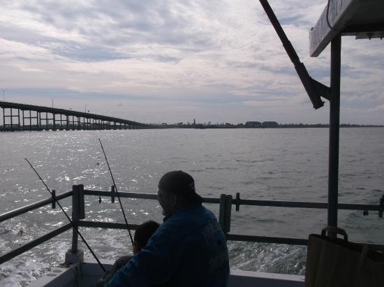 Captain Murphy's Fishing Charters : In the Laguna Madre Bay north of Queen Isabella BridgeFileting