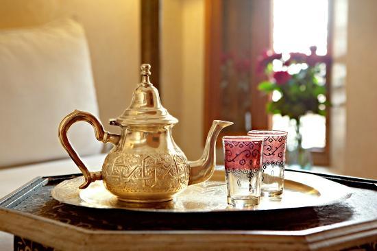 te a la menta fotograf a de le bain bleu marrakech tripadvisor. Black Bedroom Furniture Sets. Home Design Ideas