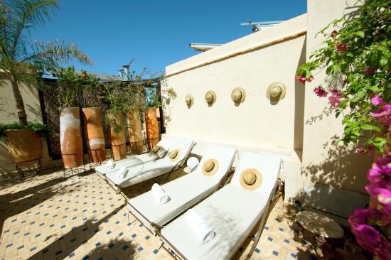 solarium 2 fotograf a de le bain bleu marrakech tripadvisor. Black Bedroom Furniture Sets. Home Design Ideas