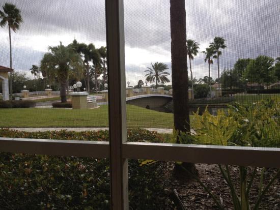Sheraton PGA Vacation Resort Villas: Porch mit einem Blick