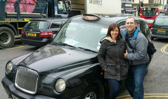 Love London Taxi Tours: Our taxi