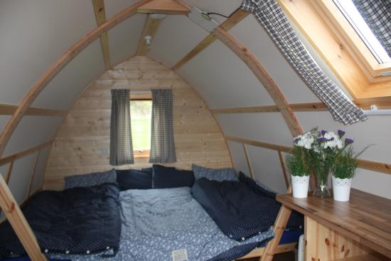 Inside Glamping Pod Picture Of Eden Leisure Village