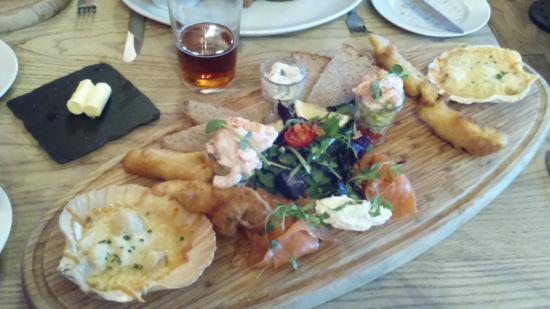 Durham Ox: Large seafood platter