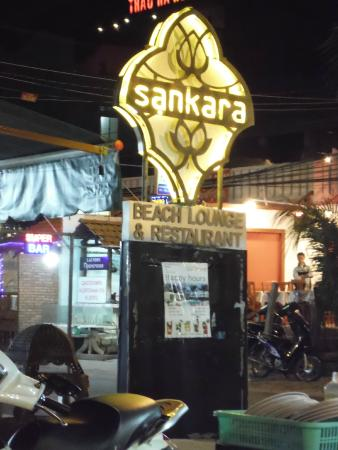 Sankara Beach Bar and Restaurant: sankara restaurant