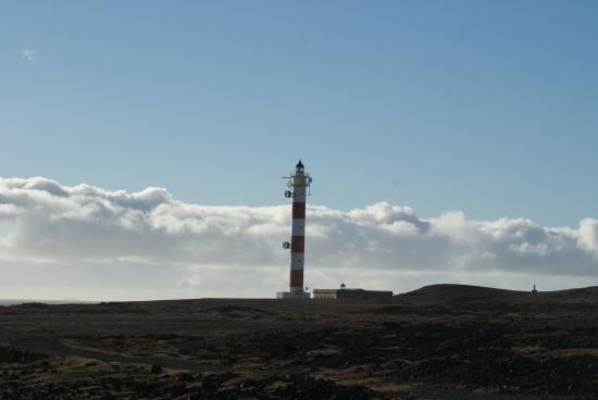 Poris de Abona, Spain: Der Leuchtturm am Punta de Abona
