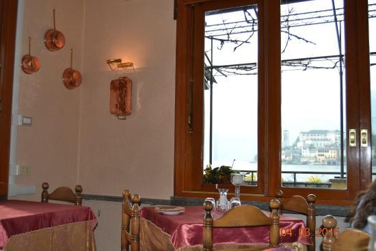 Vista da seduta al tavolo foto di ristorante leon d 39 oro for Ristorante da giulio milano