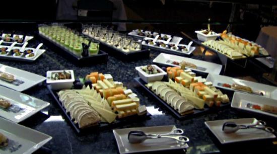 Casino madrid buffet