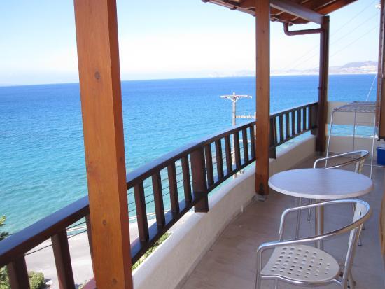 Simon Studios & Apartments : Balcony view