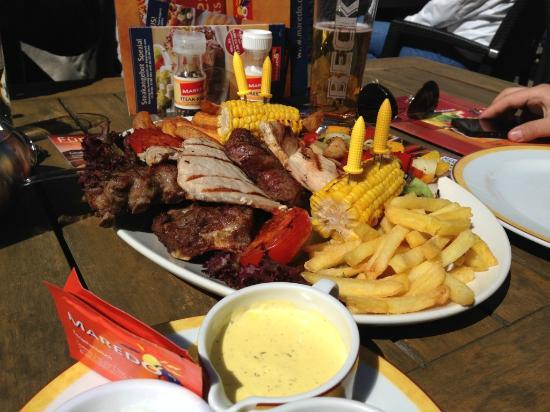 MAREDO Steakhouse Dresden Dr.-Külz-Ring: Maredo. Порция на две персоны