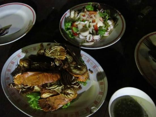 Pla Thong Seafood Restaurant : Unser Essen
