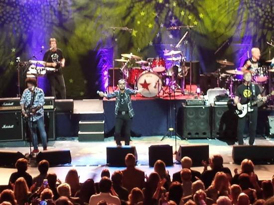 Van Wezel Performing Arts Hall: Ringo Starr and his All Starr Band.....what a night!