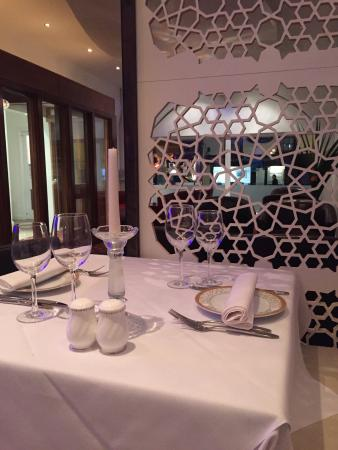 Lalezar Turkish Restaurant: Smart, Modern Decor Infused With Turkish Style.