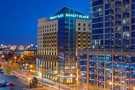 Hyatt Place Nashville Downtown : Exterior